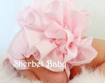 Pink Sassy Pants Ruffle Diaper Cover Bloomer