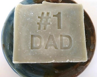 Fathers Day Gift #1 Dad Soap -Lemongrass soap - Dad soap - Father's Day Gift for DAD