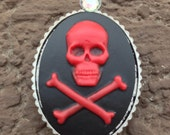 Fridge Magnet Skull and Crossbones