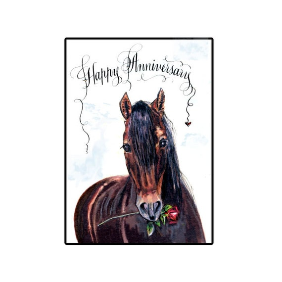 happy anniversary card by hilink on etsy