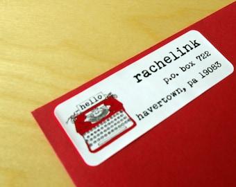 Hello Typewriter - address labels