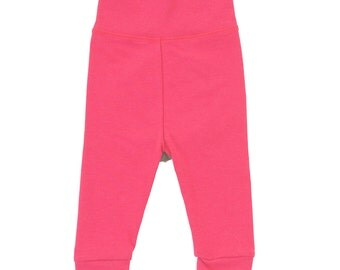 Watermelon Bamboo Sprout Pants Baby Leggings 3-6m Last Pair