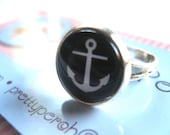 Anchor Ring Adjustable Black