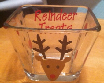 Santa's Reindeer Treats Bowl