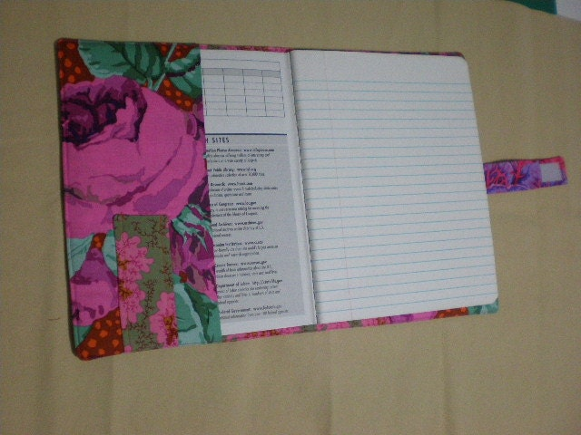 Quilted Composition Book Cover Pattern : Pattern for quilted composition book cover