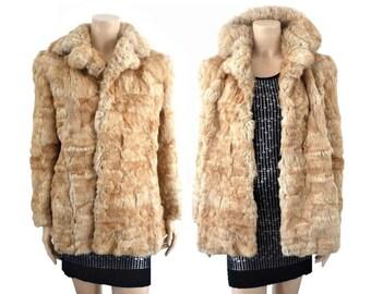 LILIANNE French Vintage 50s Fur Coat