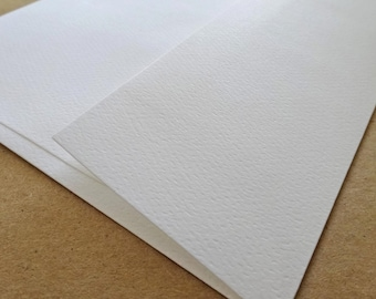 Royal Sundance Felt Brilliant WHITE A7 Envelopes - 50 PK