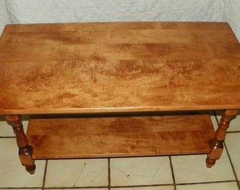 Maple Heywood Wakefield Coffee Table (BM-CT87)