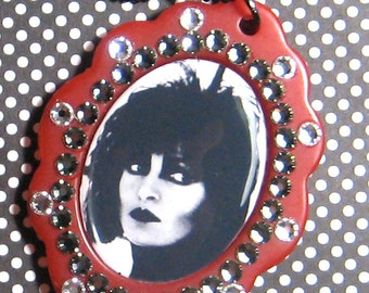 Siouxsie Sioux Pendant Necklace Goth Punk