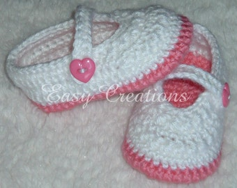 CROCHET PATTERN Mary Jane Shoes booties baby babies girl girls Star Stitch slippers skill level intermediate