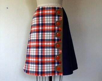 SALE Elaine asymmetrical a-line skirt Sz 8