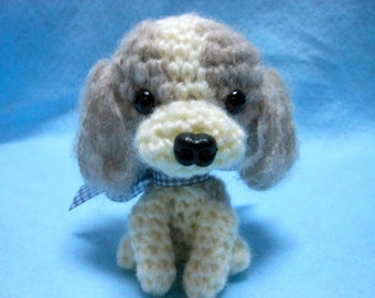 Shih Tzu Crochet Dog, Amigurumi, Canine, Stuffed Dog, Stuffed Animal, Dog Lover, Crochet Stuffed Dog