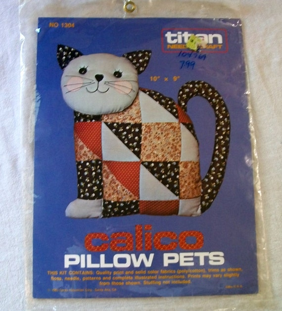 Calico Cat Pillow Pet