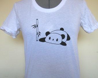 Panda Womens Shirt Sizes Small through XLarge