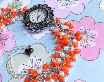 SUPER SALE Tango Beaded Bracelet Watch
