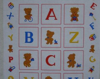 Alphabet Block Panel