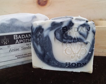Handmade Soap: Anise (Licorice) & Sandalwood Shea Butter Bar Soap - Artisan Soaps