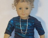 American Made 18 inch Doll Special Occasion Glamour Tunic Top