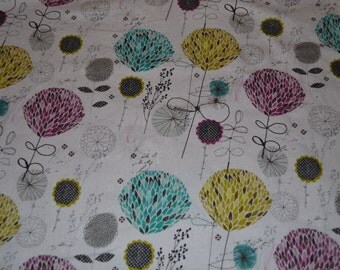 One Yard Legacy Studio Grey Funky Floral