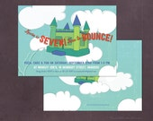 Bounce House Birthday Party Invitation!