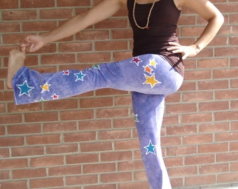 Star Yoga Pants Batik Yoga Pants CUSTOM size and colors