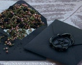 SHIELD OF PROTECTION Spirit of Magic™ Herb Loaded Envelope Spell by Witchcrafts Artisan Alchemy®