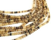 70 Natural horn beads 6mm - eco friendly and natural horn beads (PN403)