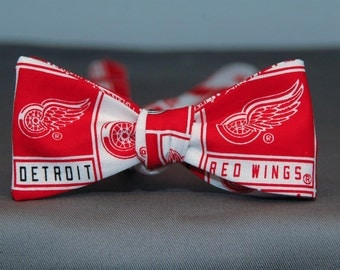 Detroit Red Wings  Bow tie