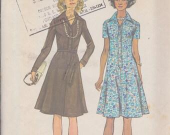 Simplicity 6155 Misses' Dress Size 12 Vintage UNCUT Pattern
