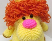 Amigurumi Plush Lion Stuffed Doll/Crochet Toy/Birthday/Zoo Animal/Photo Prop/Boy or Girl/Toddler/Infant/Nursery/Handmade Toy