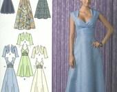 2442 motif simplicité formelle robe, robe de bal, robe de demoiselle d'honneur, robe d'été, tailles 14, 16, 18, 20, 22