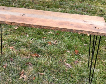 Reclaimed Barn Wood Sofa Table FREE SHIPPING-RBWST250F