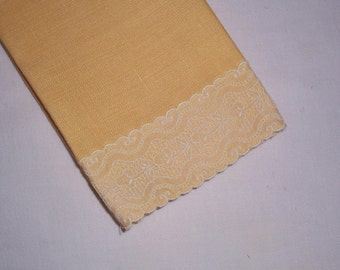 Vintage Yellow Towel