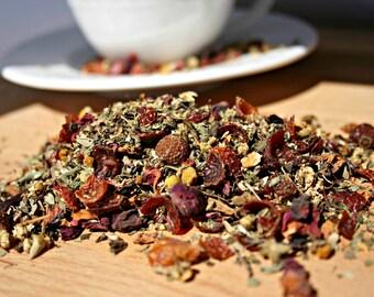 Calming Herbal Loose Leaf Tea, 1oz