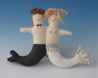 Bride and Groom Mermaid, Mermaid Bride and Groom, Wedding Bride and Groom, Weddings