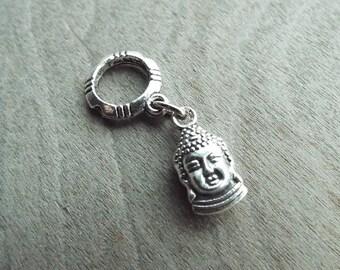 Buddha Silver Dread Charm Dreadlock Accessory Extension Accessories Dread Boho Bohemian Hippie Bead Dangle