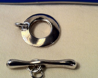 Sterling Silver Heavy Duty Clasp