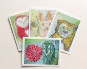 Protectors - Greeting Cards - Set of 4