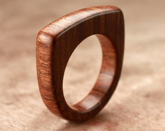 Size 7 - Tamboti Wood Ring No. 153