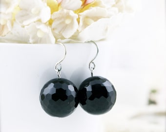 Revitalize earrings - Onyx