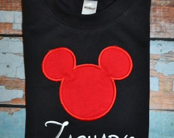 Mickey Mouse Shirt, Disney Shirt, Boys Mickey Mouse Shirt