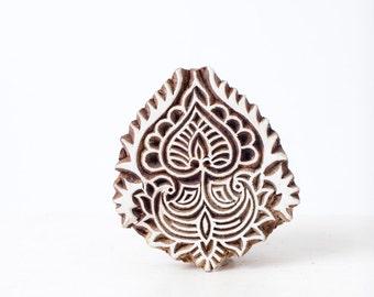 Indian Wood Stamp 293h