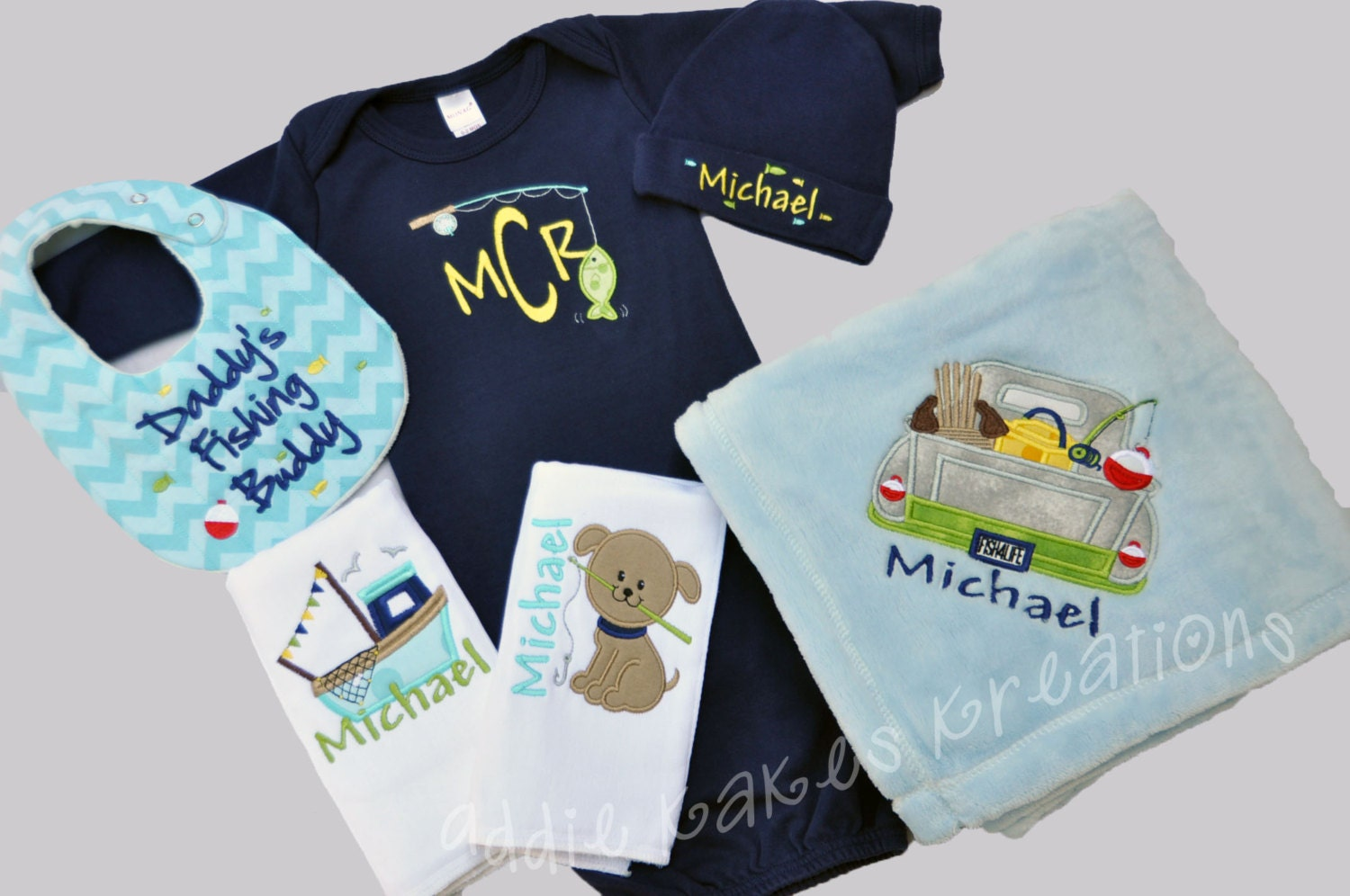 Fishing Baby Clothes Fishing Gift Set Baby Boy Clothing