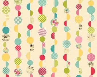 Flannel Sidewalks Cream Marbles - Riley Blake Flannel Fabric - 1 yard - LAST ONE