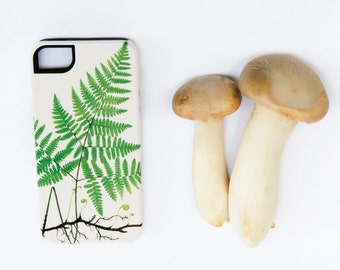 Nature iPhone 6S Case Fern iPhone 6 Case, Nature Lover, iPhone 6S Plus Case Woodland iPhone 6 Plus Case, iPhone 5S /  Galaxy S6 /