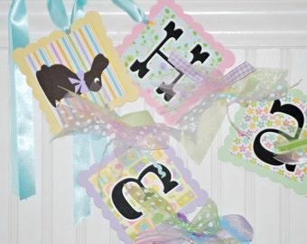 Easter Banner ~ Happy Easter ~ Easter Decoration~ Easter Garland ~ Spring Decor