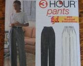 Simplicity pants pattern 9090 size lg xl sewing pattern
