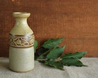 Vintage Paul Jordan Hand Thrown Studio Art Pottery Mid Century Vase