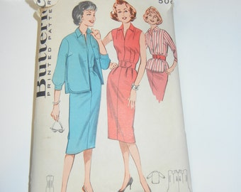 """Butterick 9308 pattern complete 32"""" bust"""