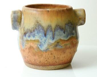 Ceramic Pot Round Oatmeal Pot